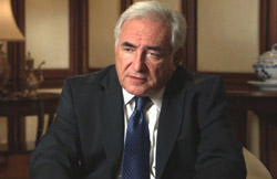 Dominique Strauss-Kahn en Inside Job