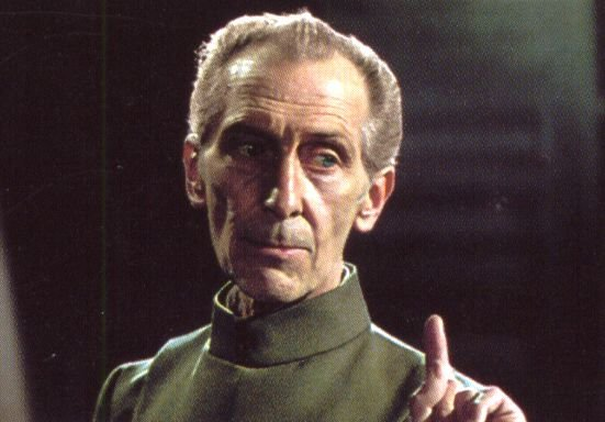 Peter Cushing, en Star Wars