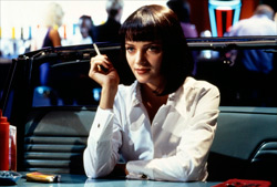 Uma Thurman en Pulp Fiction