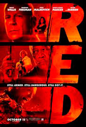 Red, cartel de la película