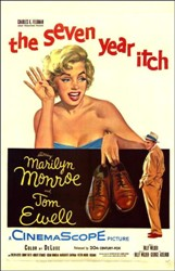 Cartel de The Seven Year Itch